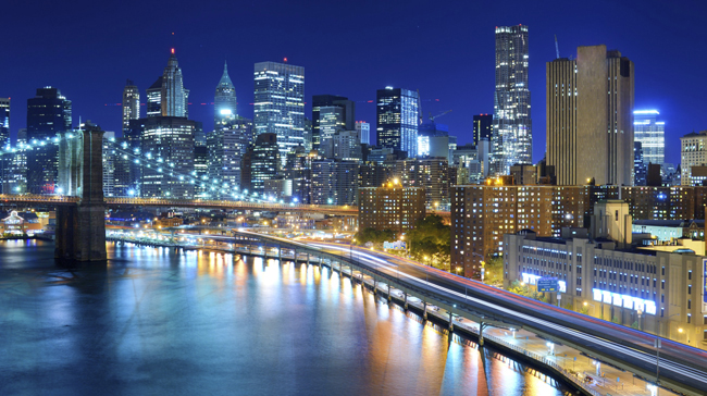 New York 2017 At Night